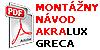 Montazny Manual Akralux Greca