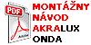 Montazny Manual Akralux Onda